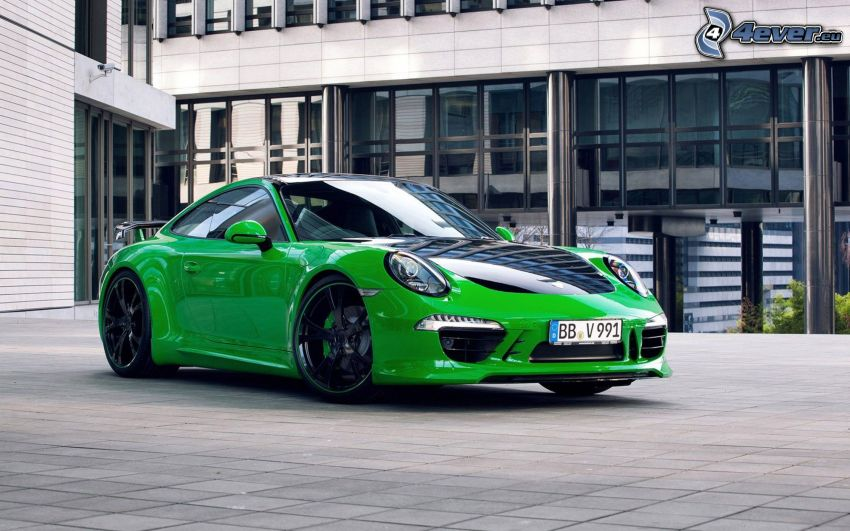 Porsche 911, byggnad, beläggning
