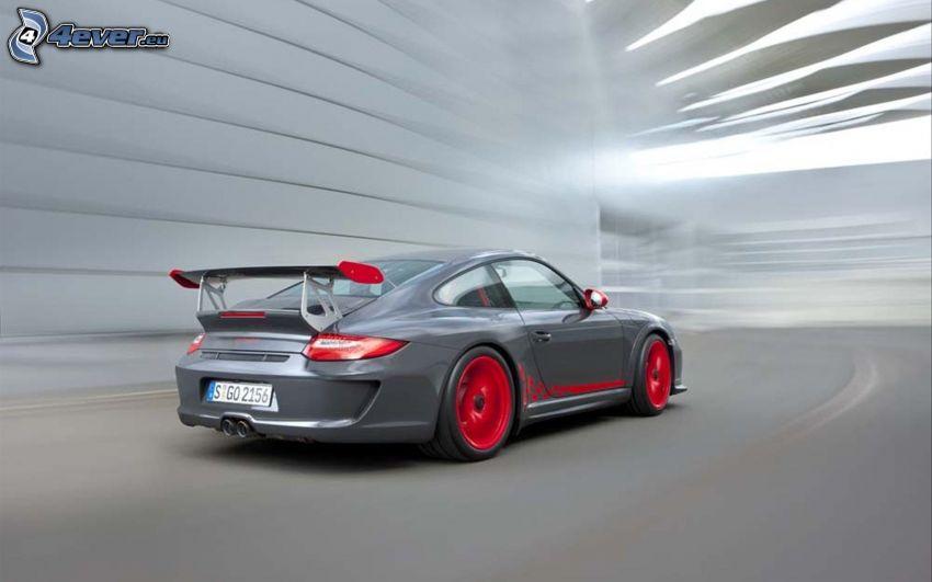 Porsche 911 GT3, tunnel