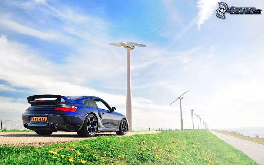 Porsche 996 turbo, vindkraftsverk