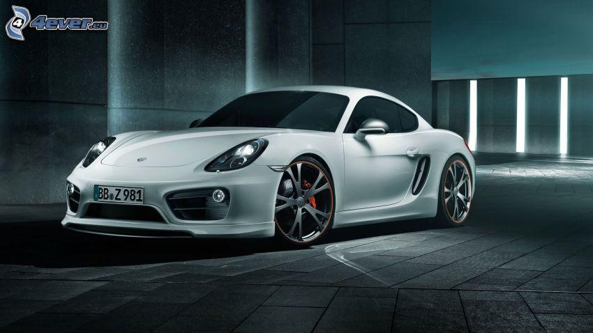 Porsche Cayman, beläggning