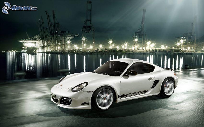 Porsche Cayman, fart, hamn