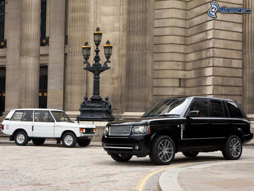 Range Rover, veteran, evolution, lampa