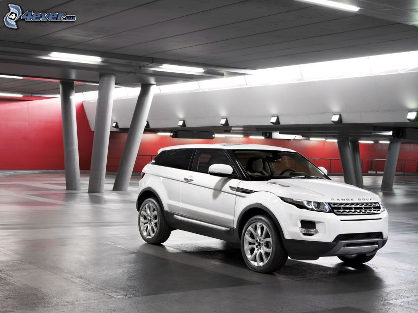 Range Rover Evoque, garage