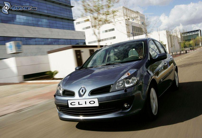 Renault Clio, fart, stad