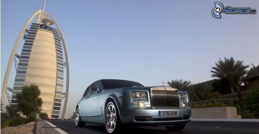 Rolls Royce, Burj Al Arab, Dubai, Förenade Arabemiraten