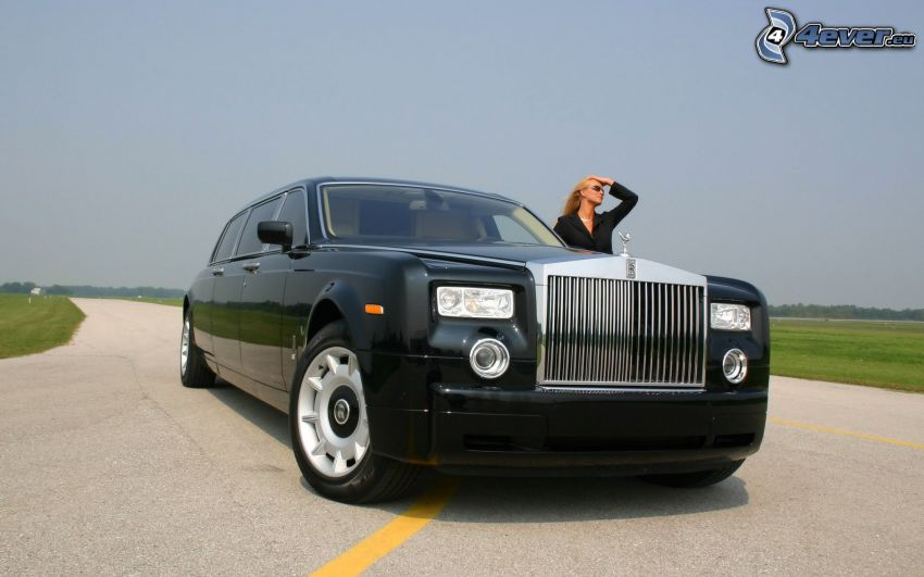 Rolls Royce, kvinna