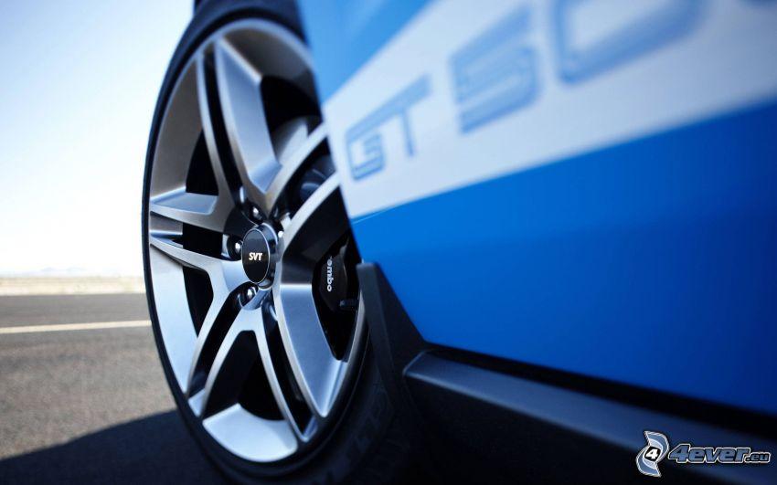Shelby GT500CR, hjul, disk