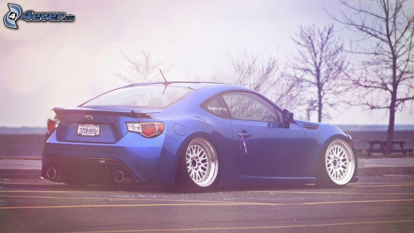 Subaru BRZ, lowrider