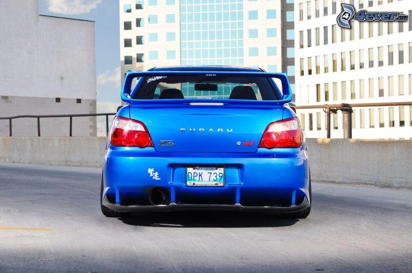 Subaru Impreza, byggnader