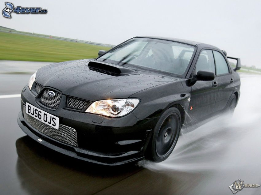 Subaru Impreza, fart