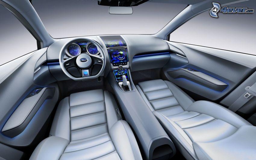 Subaru Impreza, interiör
