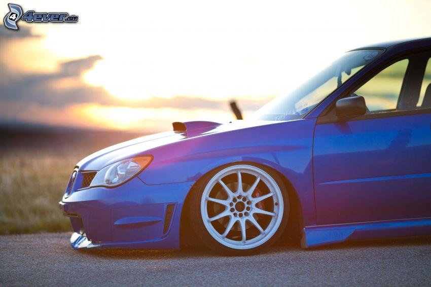Subaru Impreza WRX, lowrider