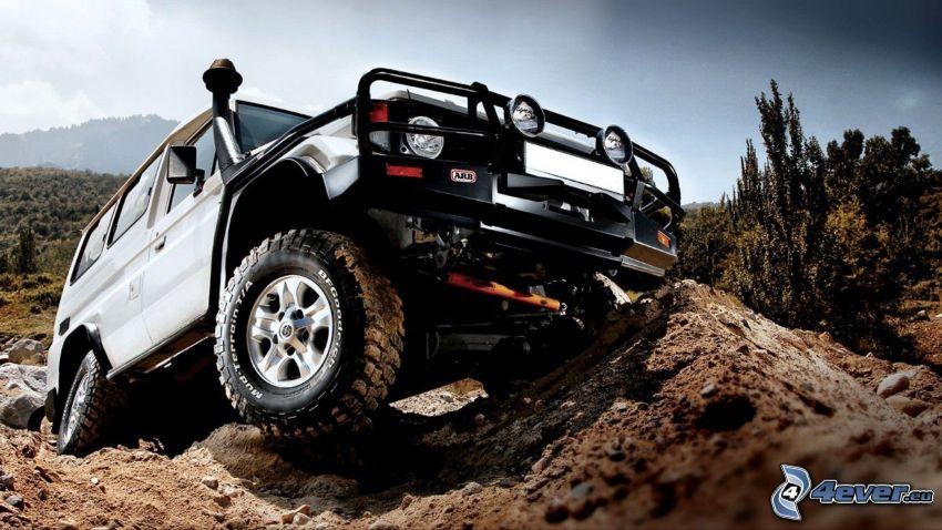 Toyota Land Cruiser, off-road bil