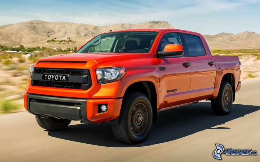 Toyota Tundra, bergskedja