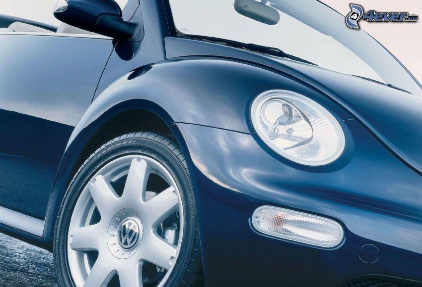 Volkswagen Beetle, strålkastare, hjul
