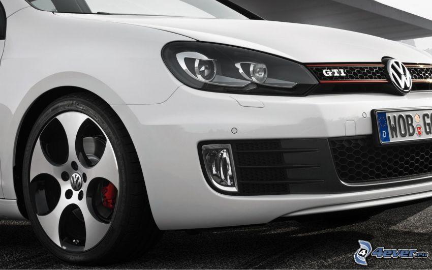 Volkswagen Golf GTI W12, strålkastare, frontgaller, hjul