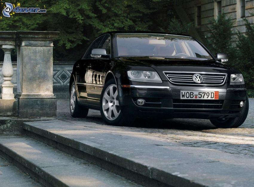 Volkswagen Phaeton, trappor