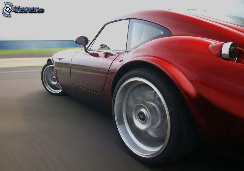 Wiesmann GT MF4, hjul, fart