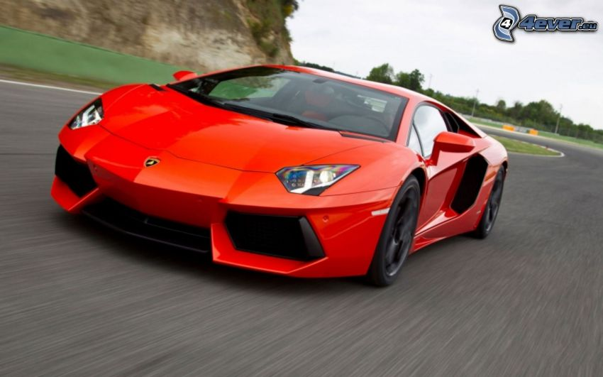 Lamborghini Aventador, fart