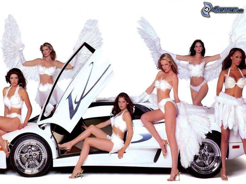 Lamborghini Diablo, änglar