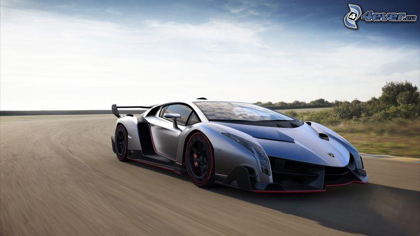 Lamborghini Veneno, väg, fart
