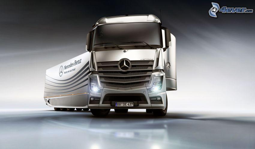 lastbil, Mercedes-Benz