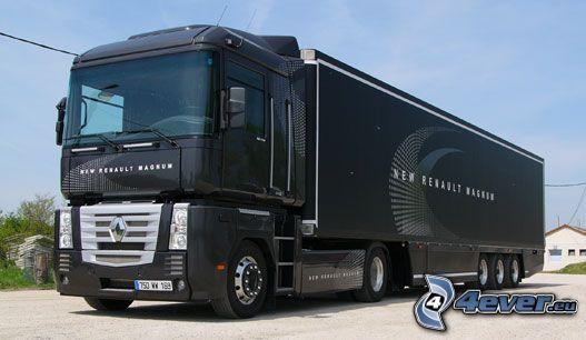 Renault Magnum, lastbil, truck