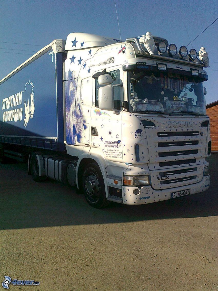 Scania R420, lastbil