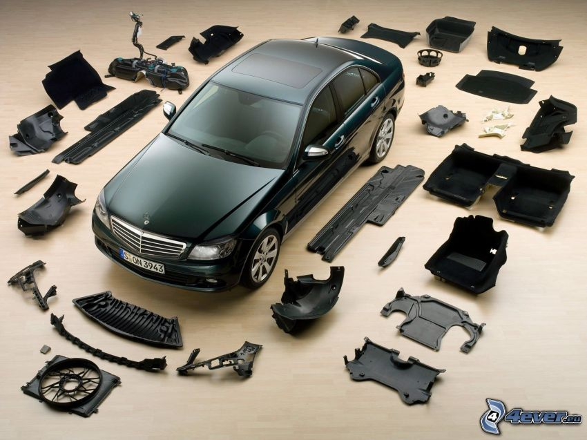 Mercedes-Benz C, komponenter