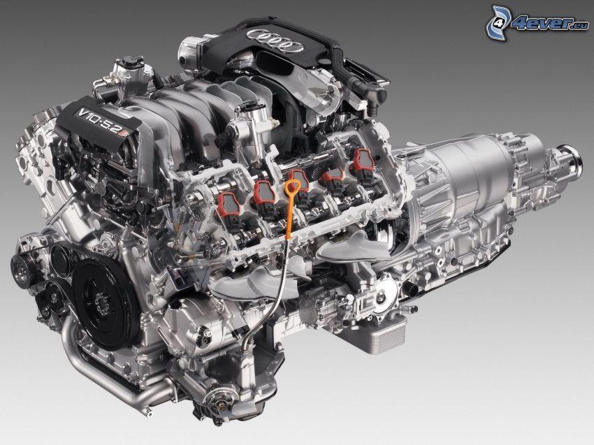 motor, Audi R8