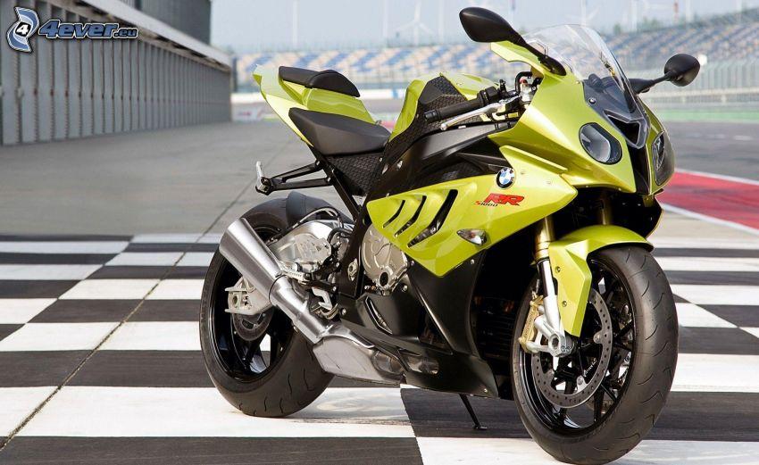 BMW motorcykel, beläggning