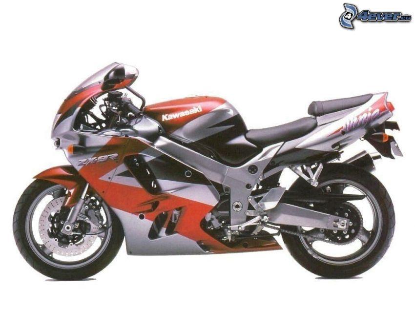 Kawasaki ZX 7R, motorcykel