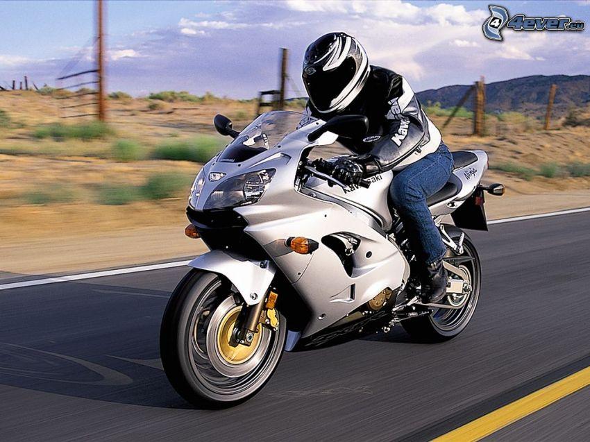 motorcykel, fart