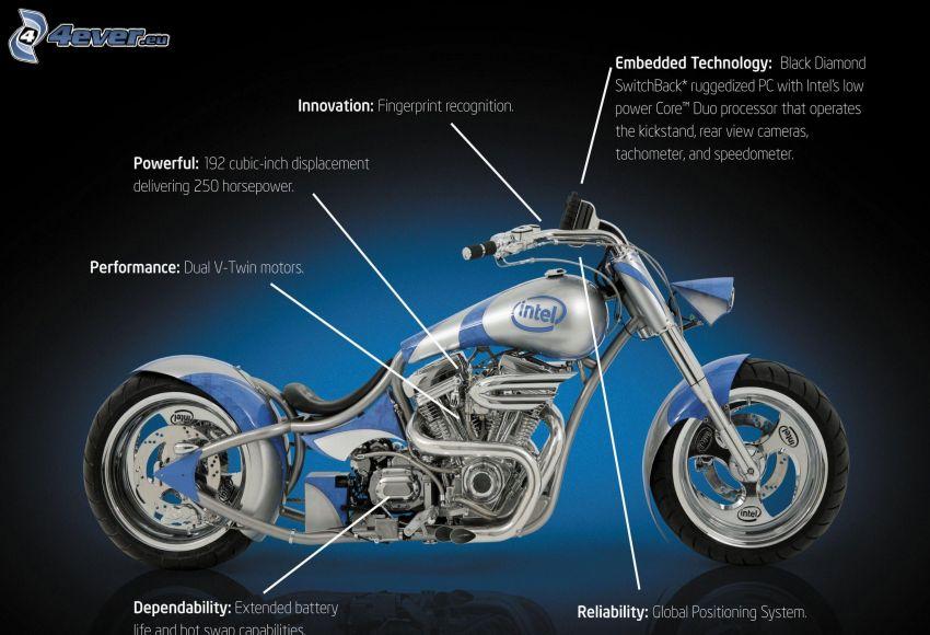 motorcykel, Intel