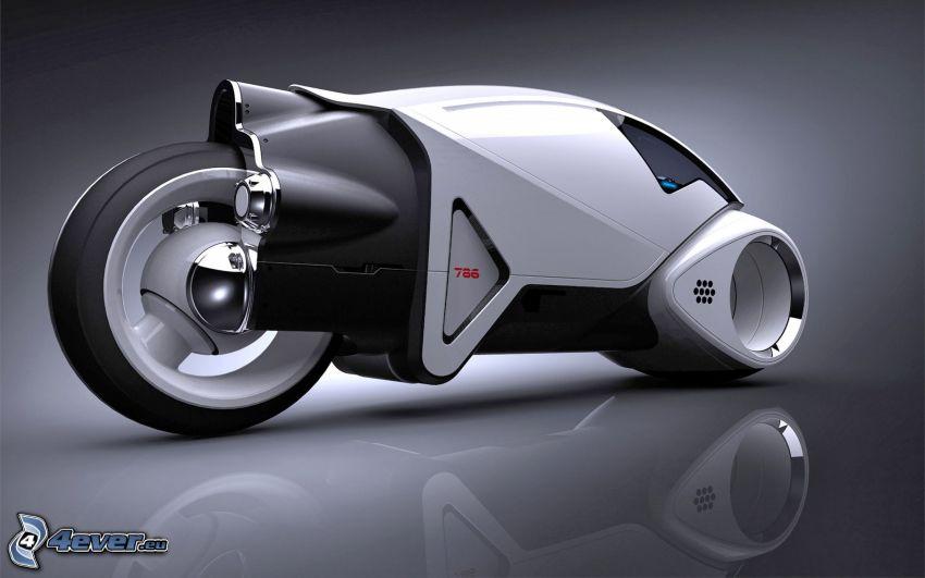 motorcykel, koncept
