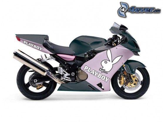 motorcykel, Playboy