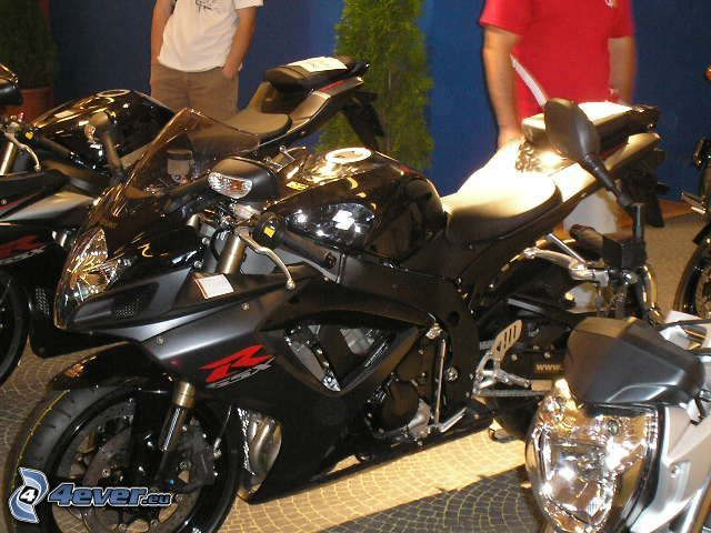 motorcykel, utställning