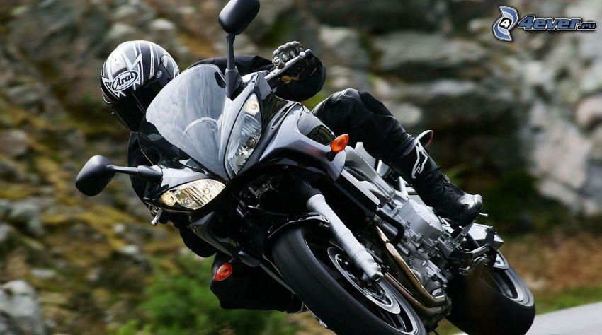 motorcykelförare