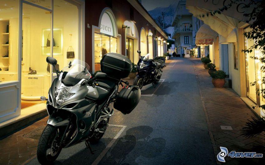 Suzuki, motorcykel, gata