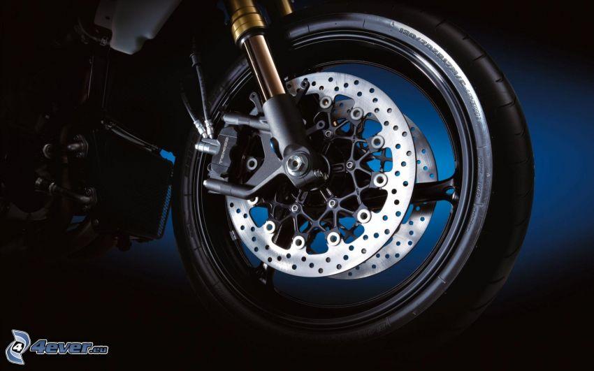 Suzuki GSX-R, hjul, broms
