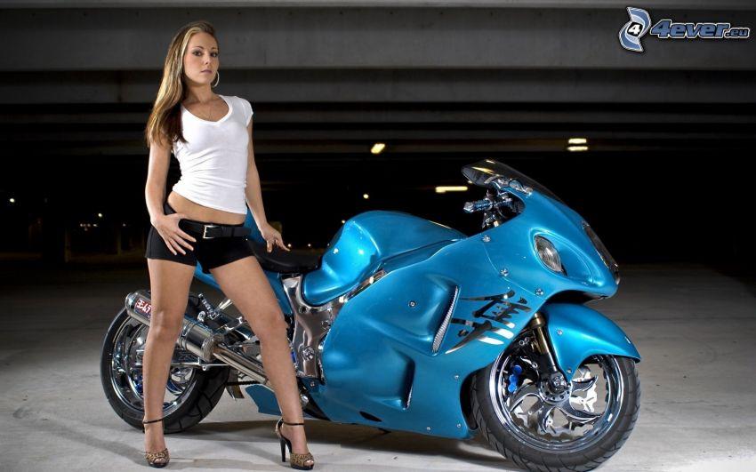 Suzuki Hayabusa, motorcykel