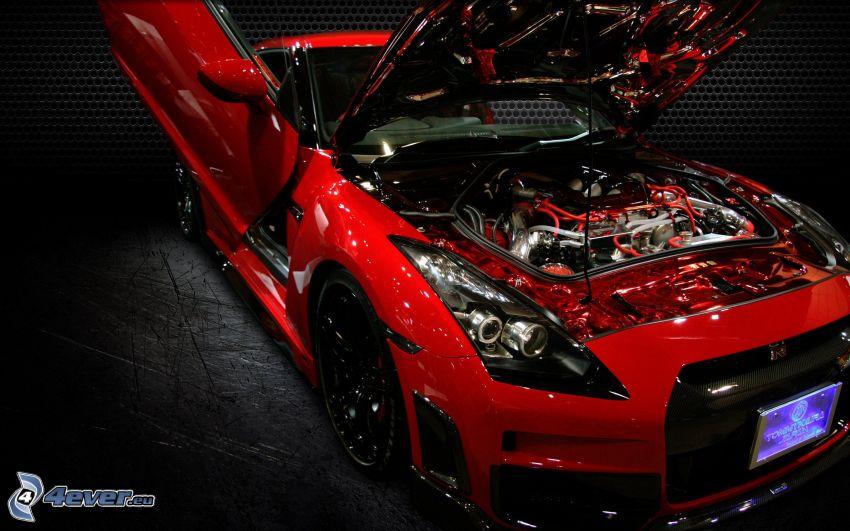 Nissan GTR, motor