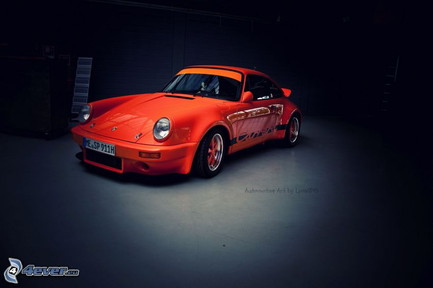 Porsche 911 Carrera, veteran