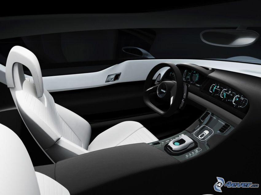 Saab Turbo X, interiör