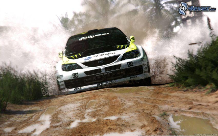 Subaru Impreza, rally, väg