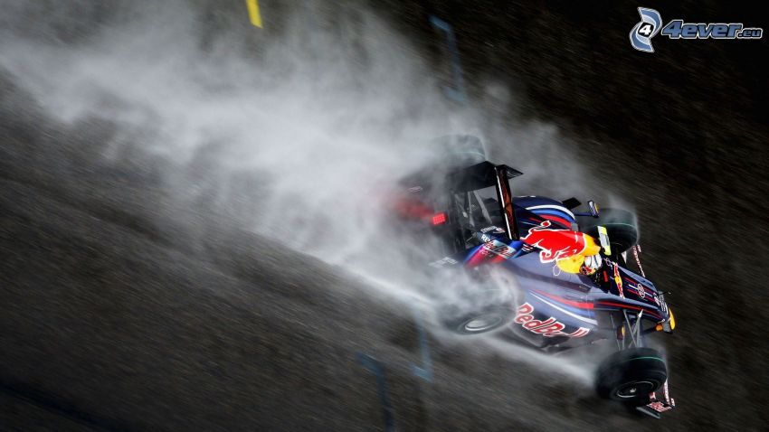 Formel 1, rök