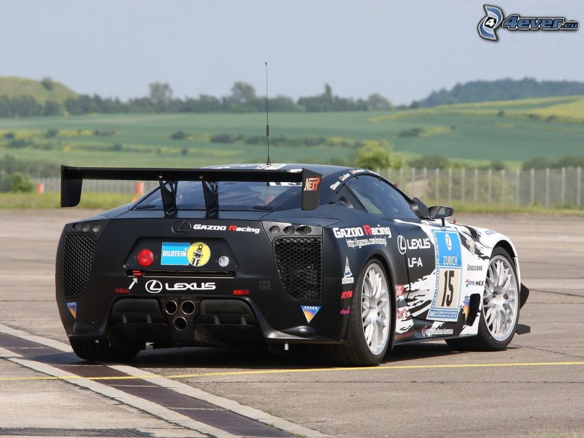 Lexus, racerbil