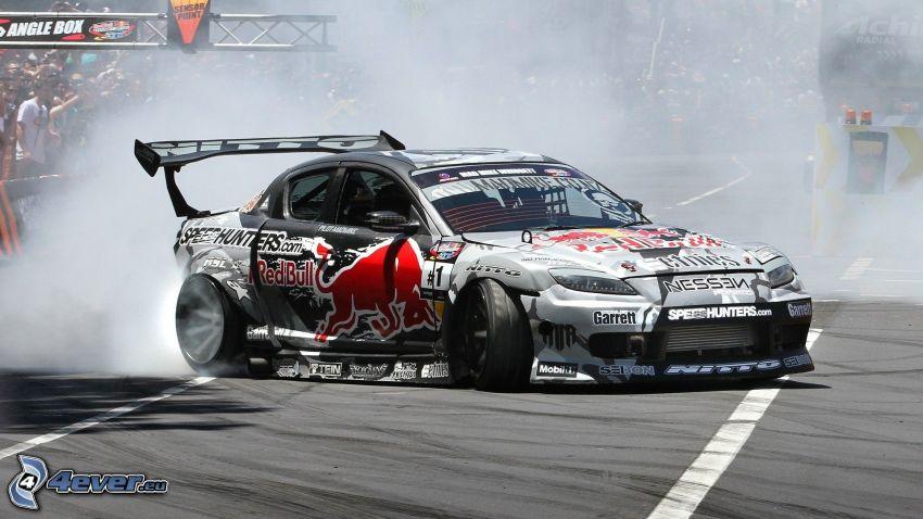 Mazda RX8, drifting