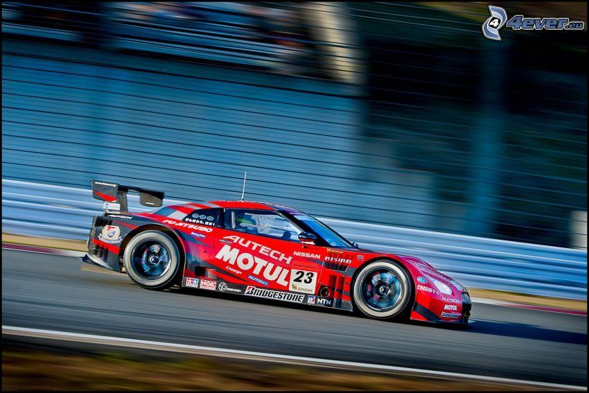 Nissan GT-R, racerbil, fart