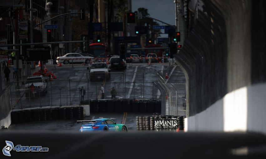 Porsche, racerbil